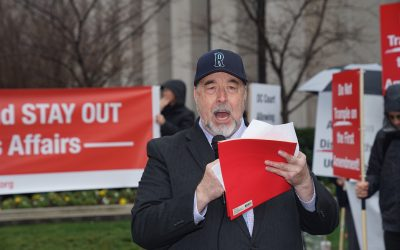 DC Judge Ignores 1st Amendment: Howard Self
