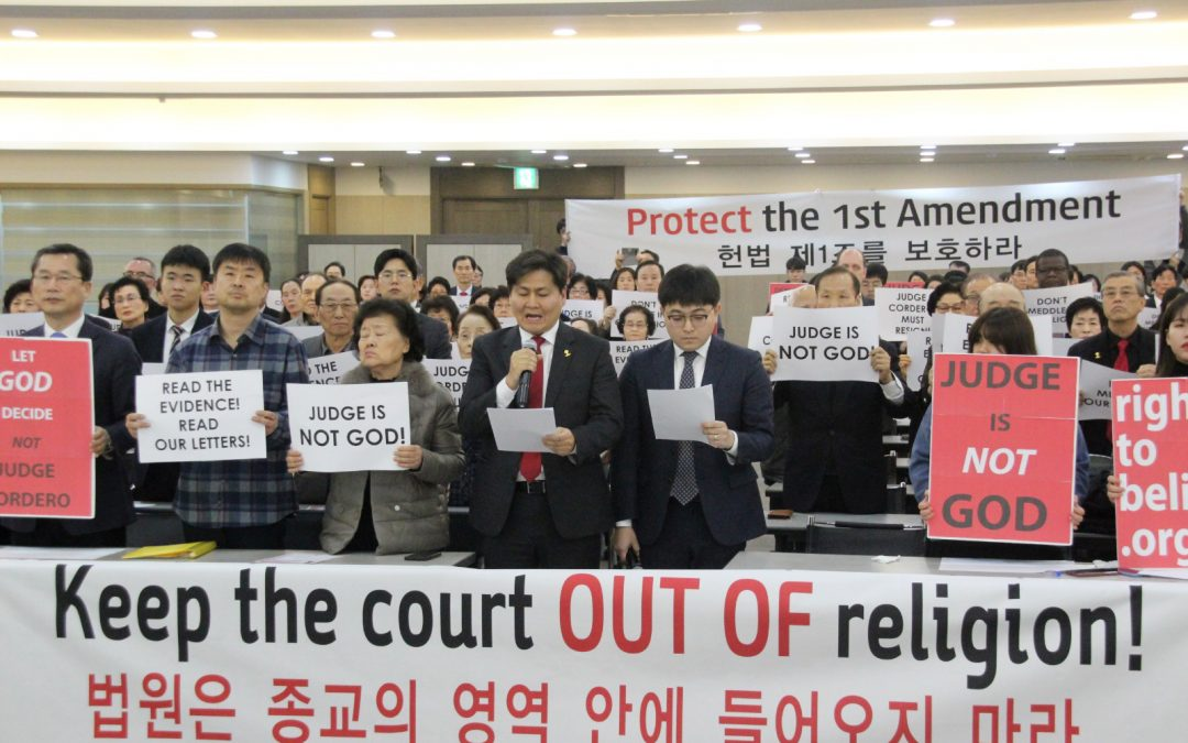 Rally for Religious Freedom in the Republic of Korea